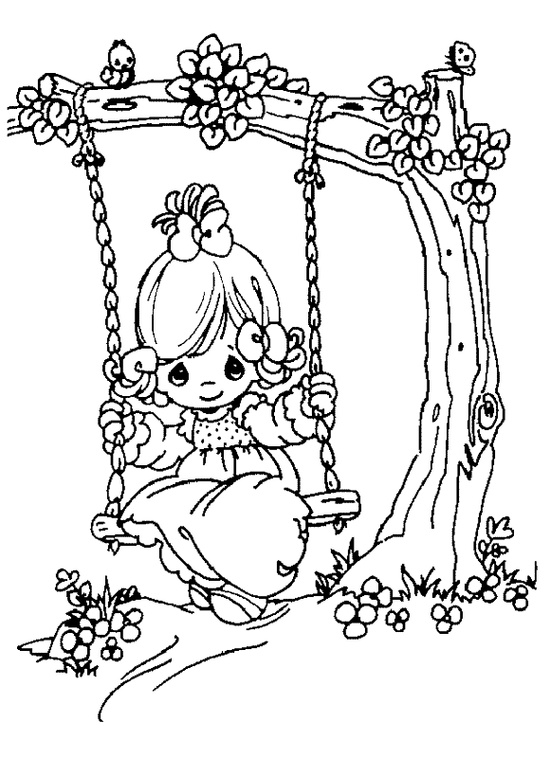prcious moments coloring pages - photo#24