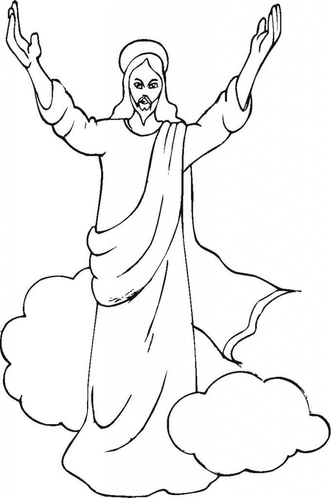 Coloring Pages of Jesus