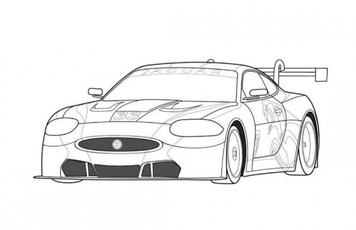 Coloring Pages of Sports Cars