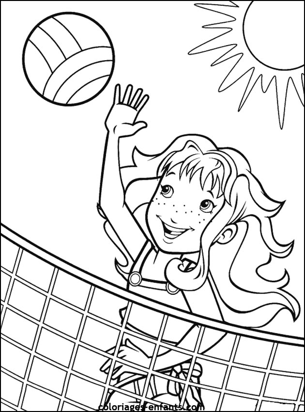 Coloring Pages of Sports