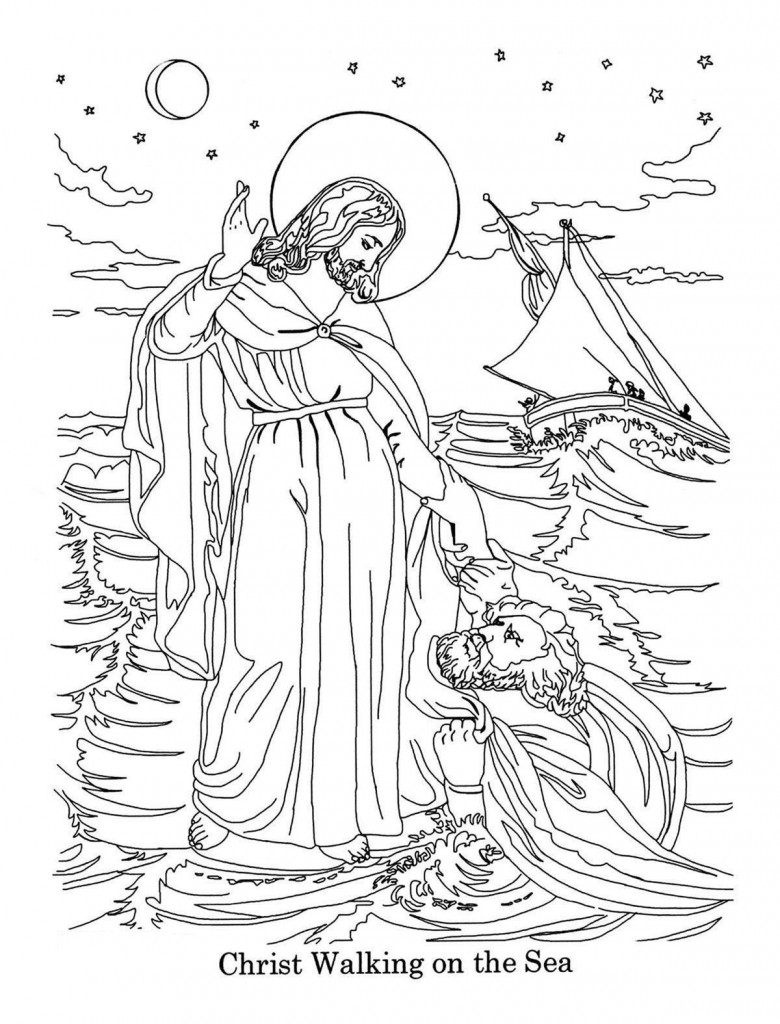 Coloring Pages of The Bible
