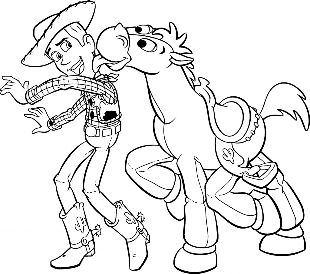 Coloring Pages of Toy Story