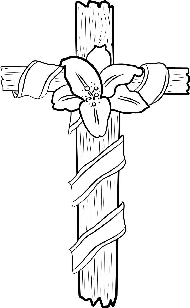 Free Printable Cross Coloring Pages For Kids Coloring Pages Of Crosses