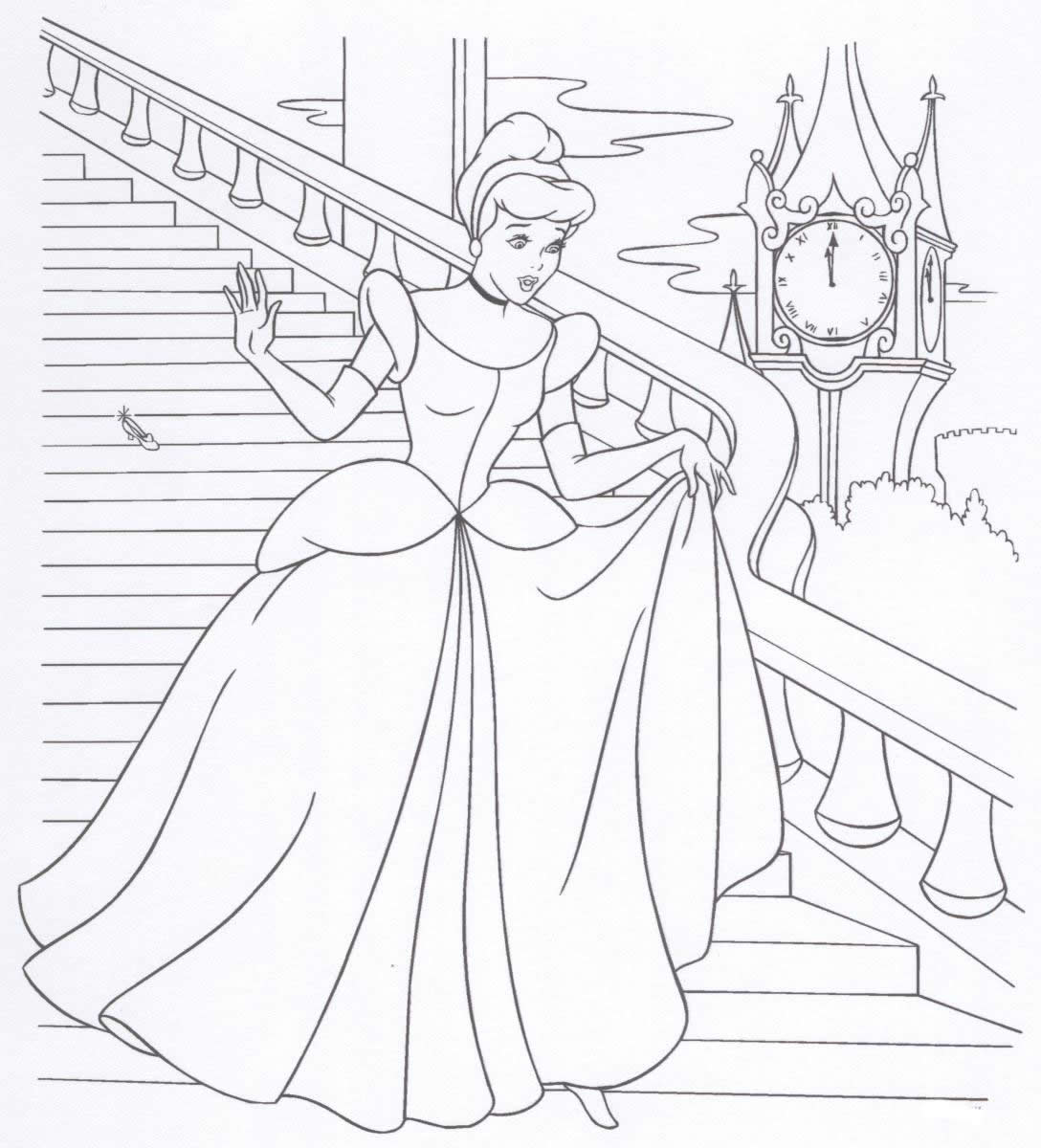 disney princesss coloring pages - photo#32