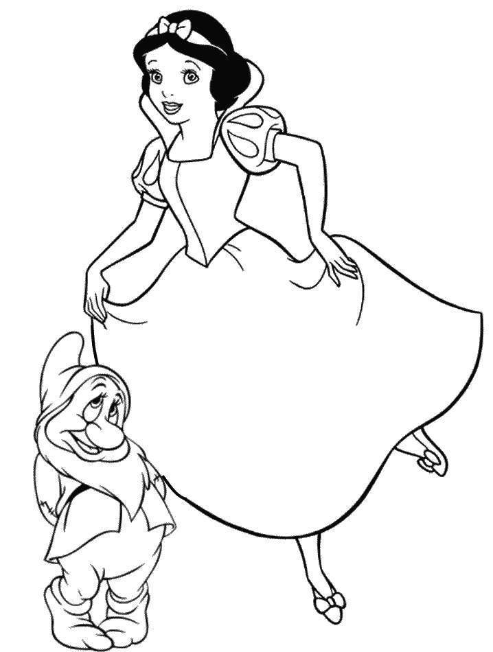 free printable disney princess coloring pages for kids - Printable Coloring Pages Princess