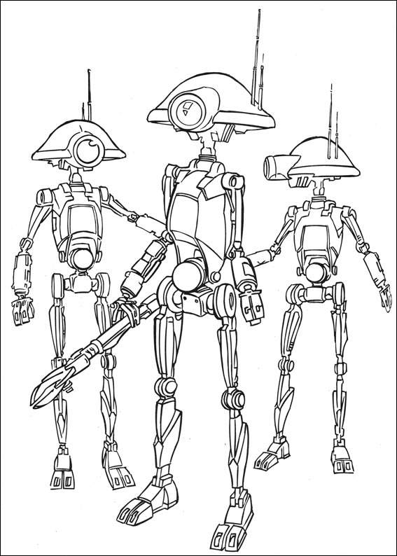 Droids - Star Wars Coloring Pages