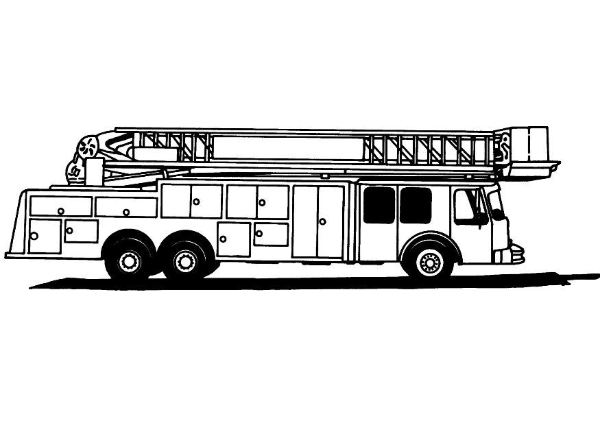 fire truck coloring pages firefighter - photo#25