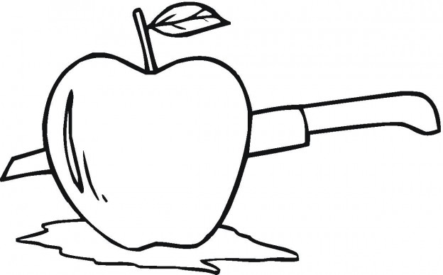 Free Apple Coloring Pages Printable