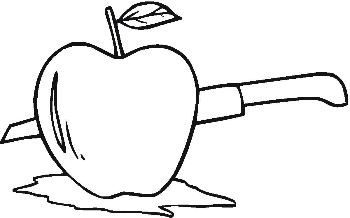 free apple coloring pages printable - Apples Coloring Pages
