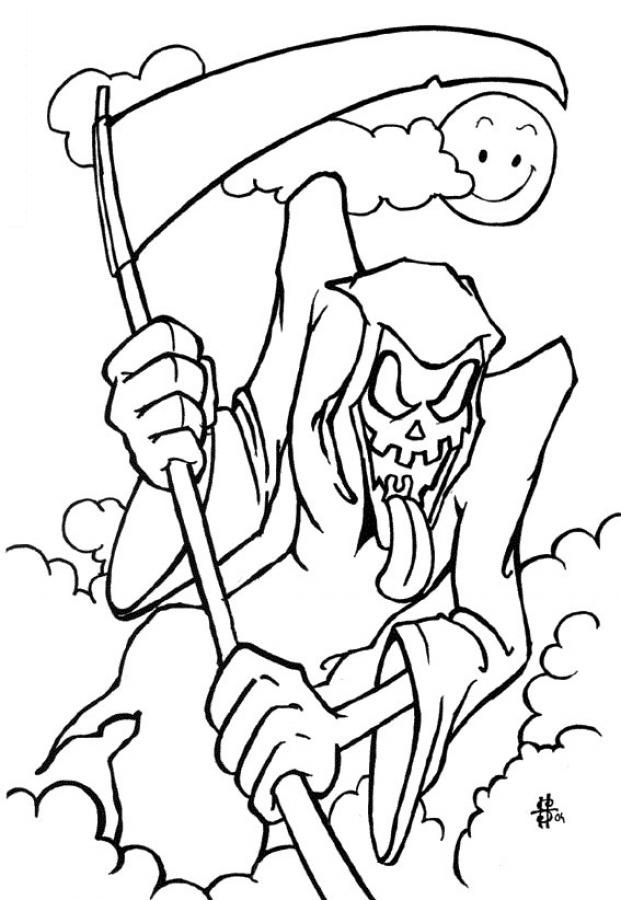 free halloween coloring pages for kids - Cool Coloring Pages To Print For Free
