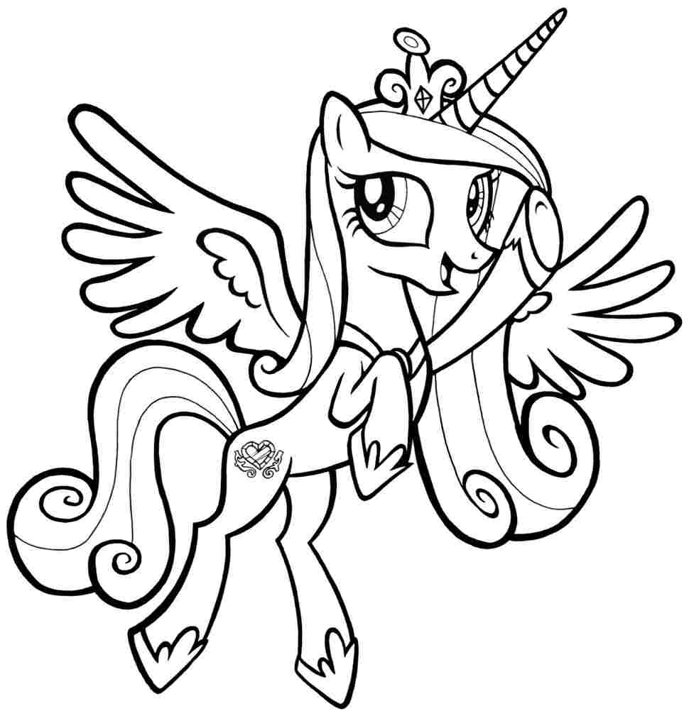 Free MLP Coloring Pages