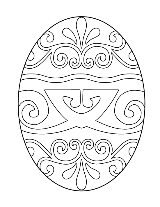 free printable easter egg coloring pages - Free Coloring Pages Of Easter