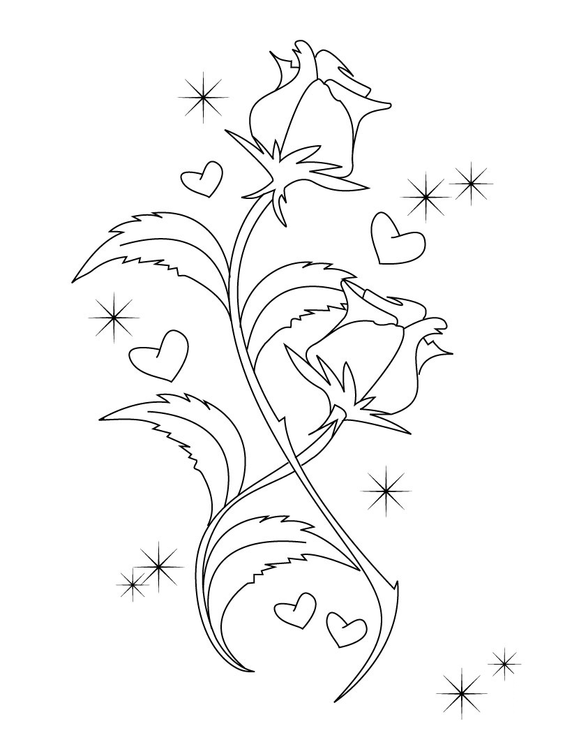 free printable valentine coloring pages for kids