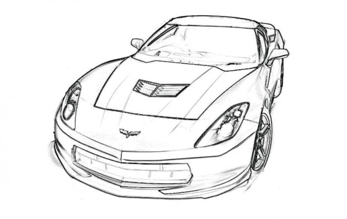 free race car coloring pages for kids - Colourings For Kids