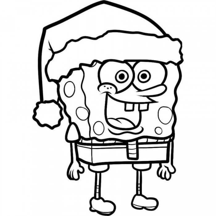 coloring pages of spongebob square - photo#1