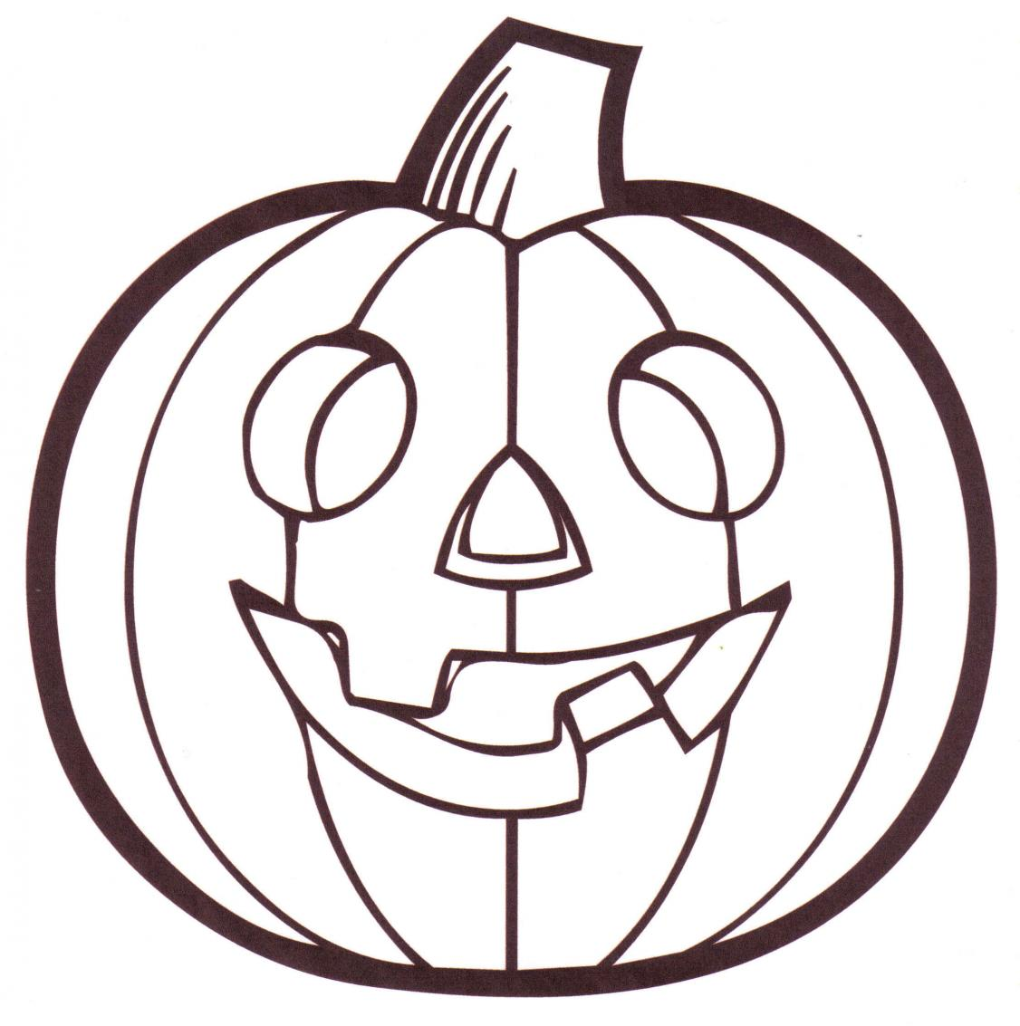 Clip Art Coloring Pages Of A Pumpkin free printable pumpkin coloring pages for kids halloween page