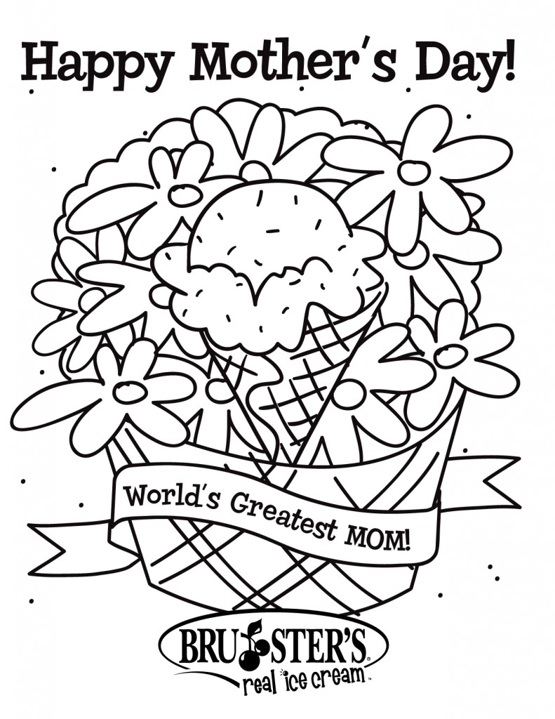 Coloring Pages For Children S Day : Free printable mothers day coloring pages for kids