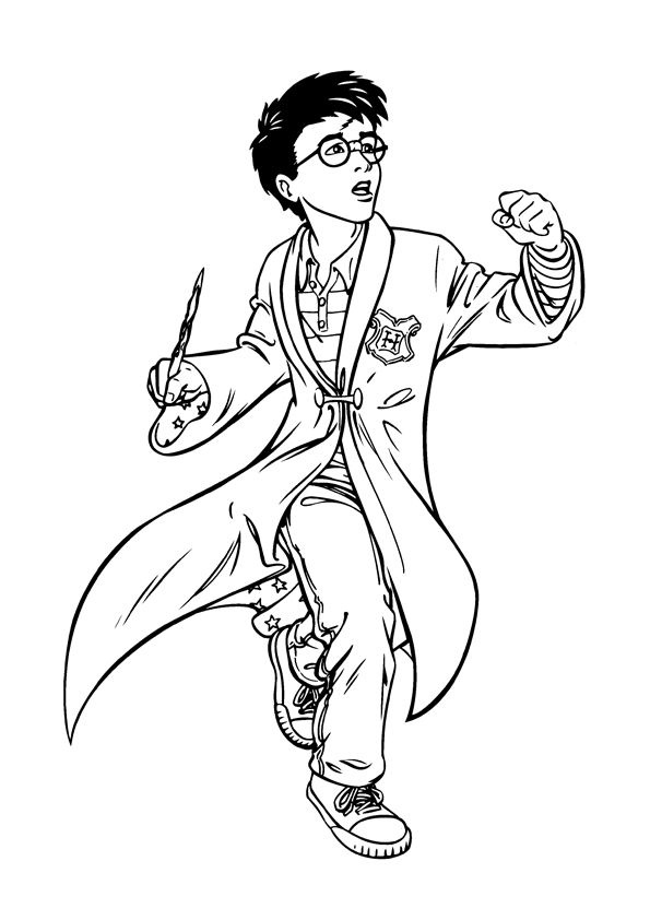 Harry Potter Printable Coloring Pages