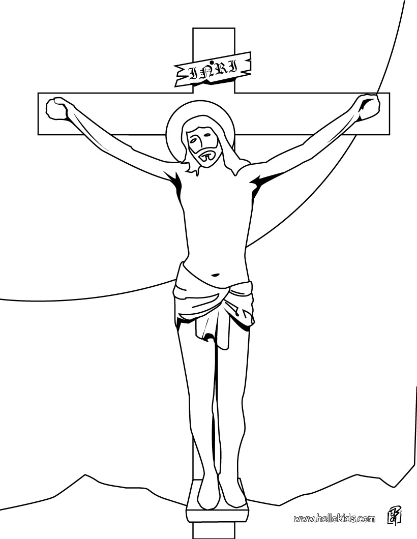 jesus calms the storm coloring page - Coloring Pages Jesus
