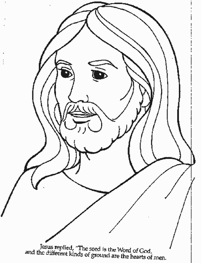 Coloring Pages Of Jesus Glamorous Free Printable Jesus Coloring Pages For Kids Design Inspiration