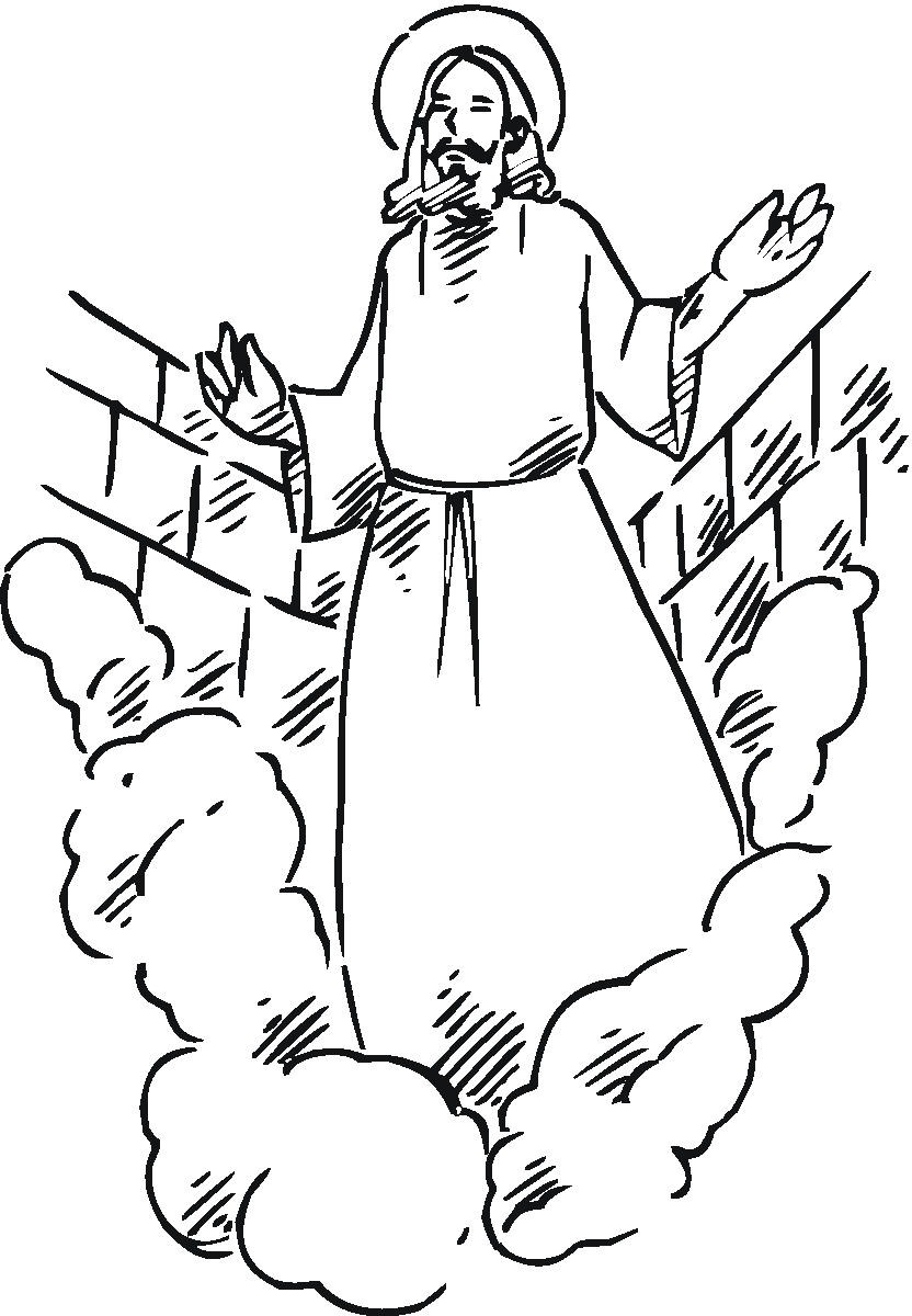 Free Coloring Pages Of Boy Jesus At The Temple