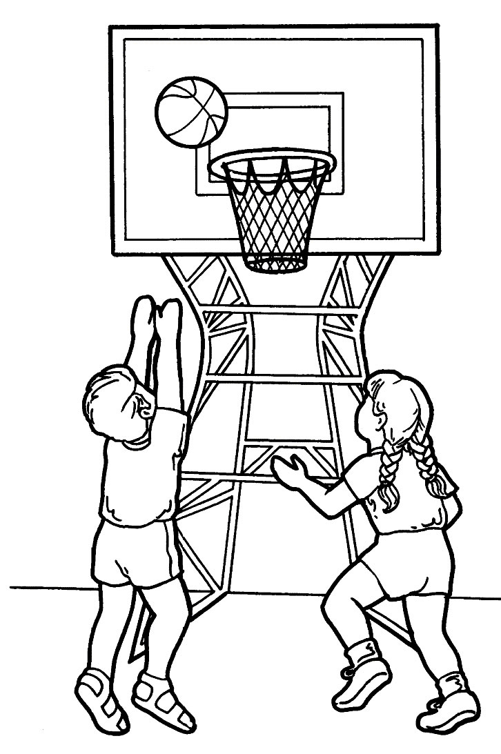 Printable coloring pages sports - Kids Sports Coloring Pages