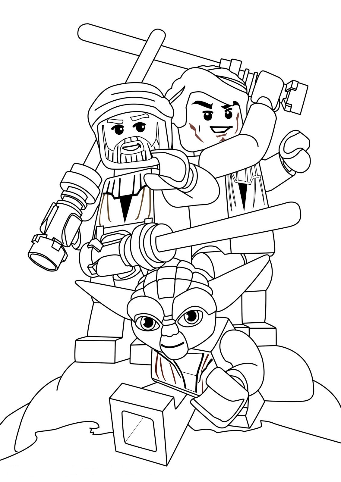 Star wars coloring pages free printable star wars for Free printable lego coloring pages for kids