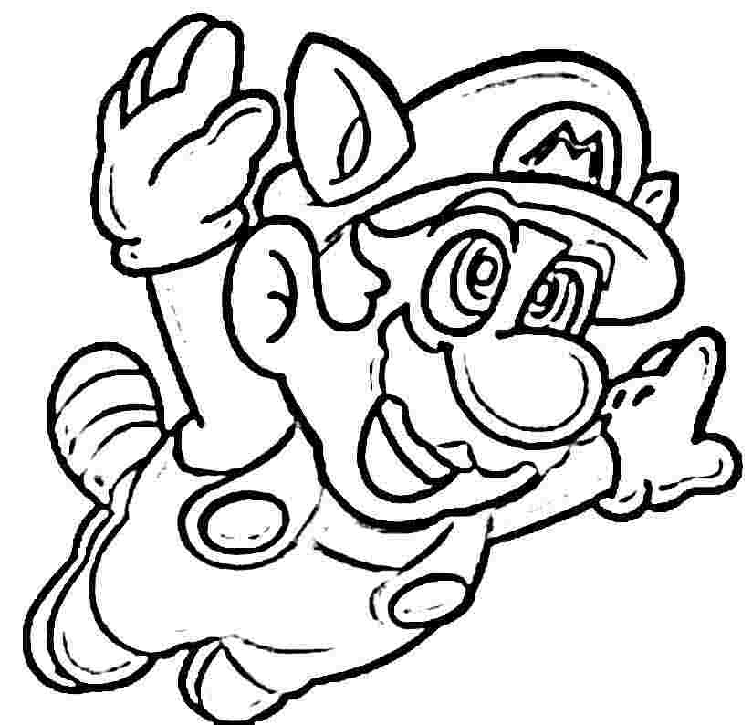 Mario coloring pages free