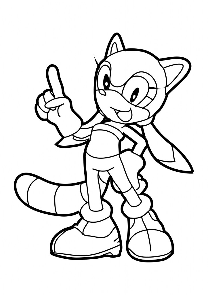 Metal Sonic Coloring Pages