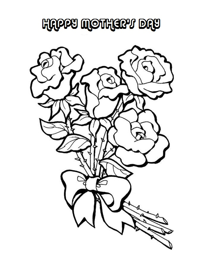 coloring pages mom and kids - photo#41