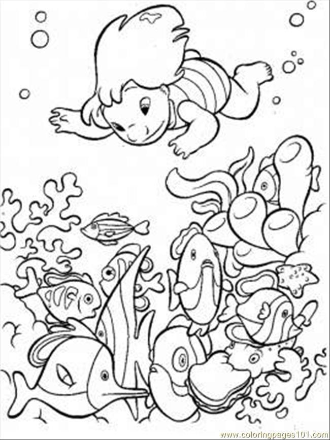 Colouring Pages Print : Free printable ocean coloring pages for kids
