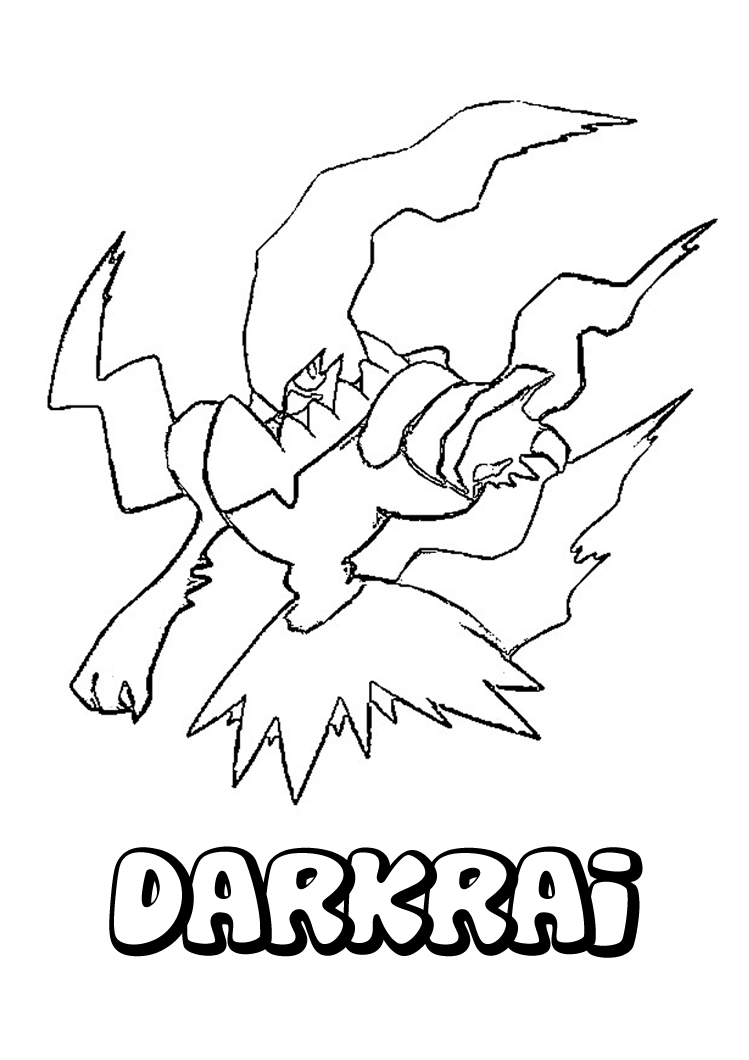 Coloring Pages For Pokemon Black And White : Free printable pokemon coloring pages for kids