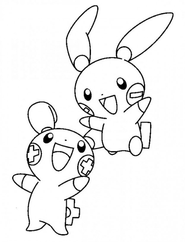 Free printable pokemon coloring pages for kids for Nintendo land coloring pages
