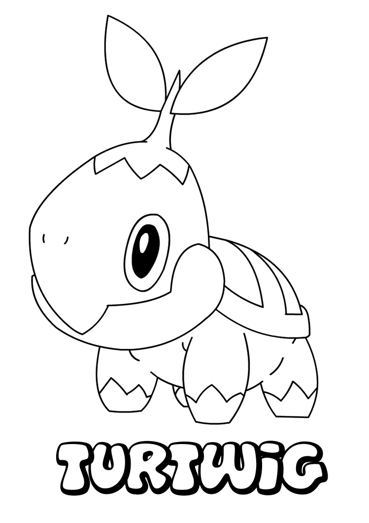 pokemom coloring pages - photo#20