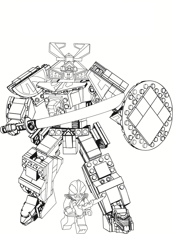 Free printable power rangers coloring pages for kids for Power rangers samurai megazord coloring pages