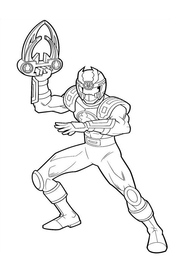 Power Ranger Coloring Pages Pictures