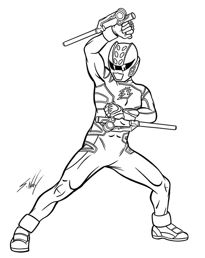 power ranger coloring pages printable - photo#34