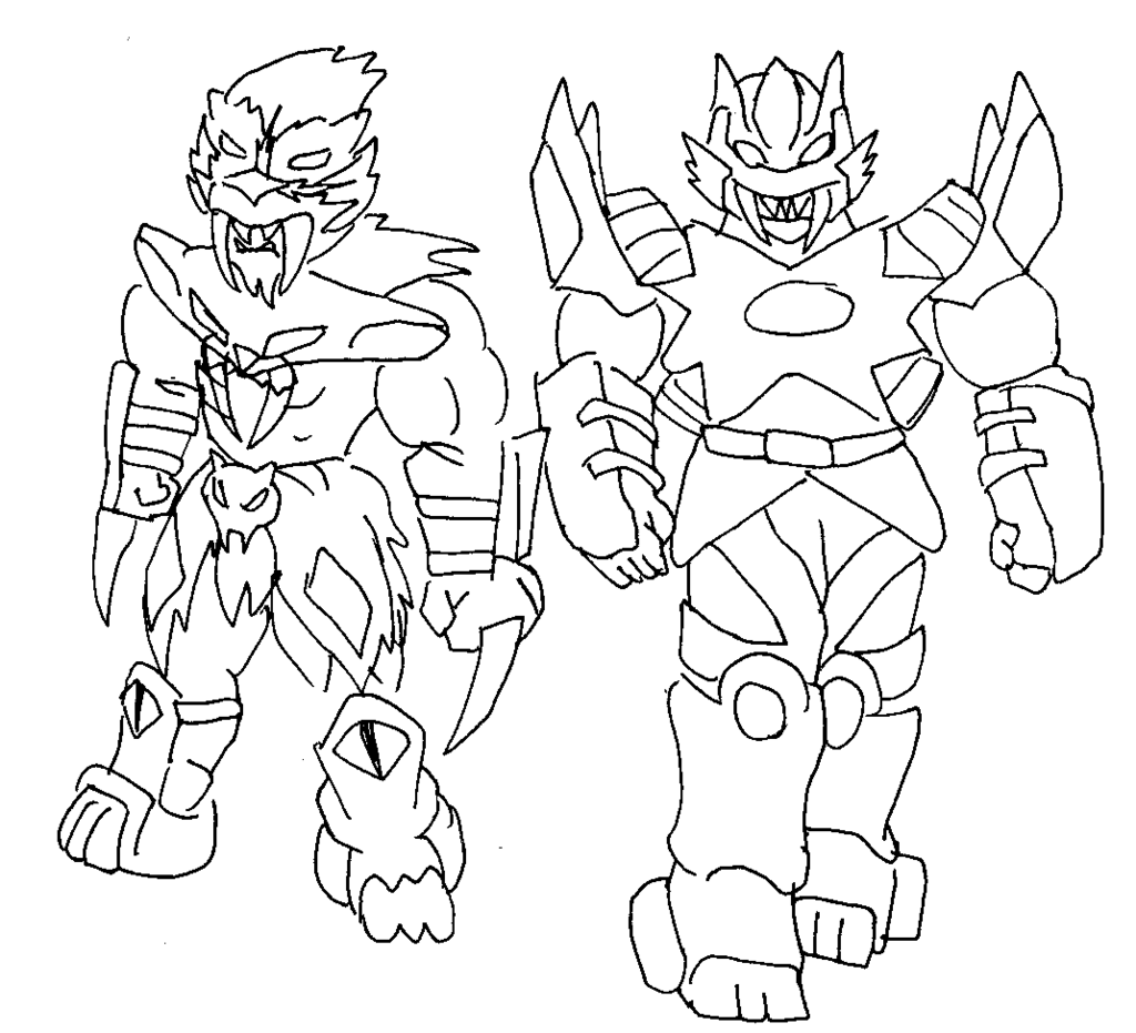Power Rangers Coloring Pages Games