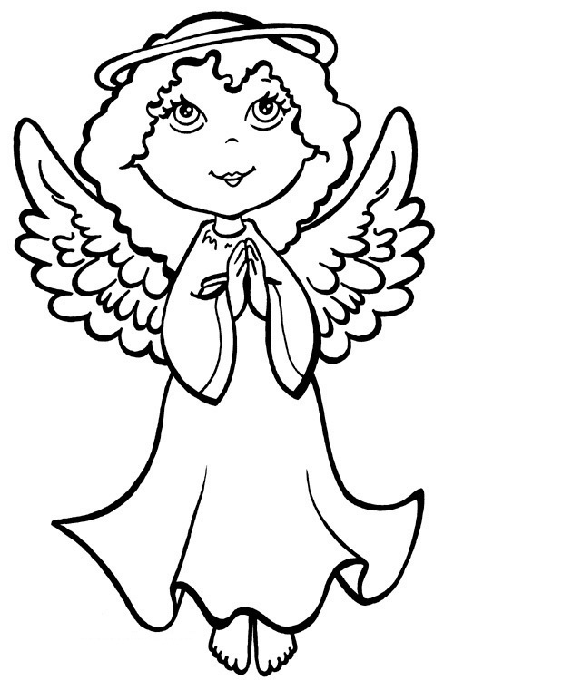 Captivating Precious Moments Angels Coloring Pages Good Looking
