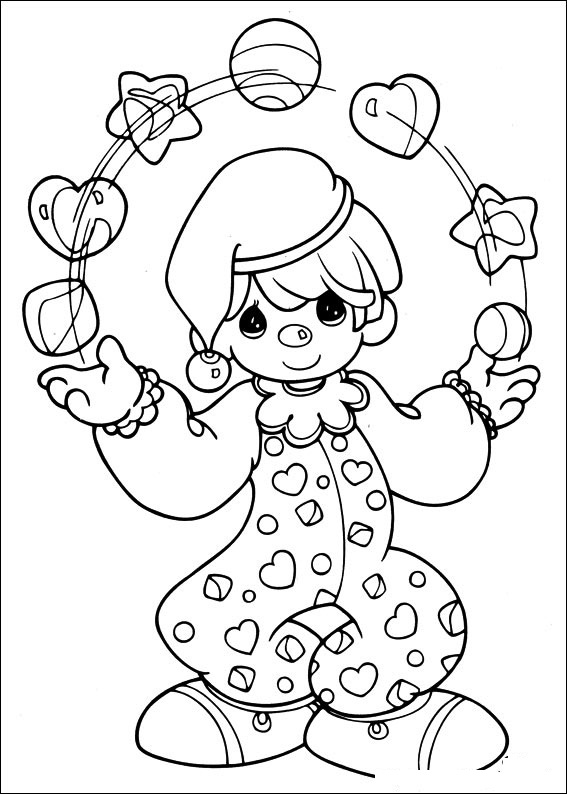precious moments coloring pages printable - photo #24