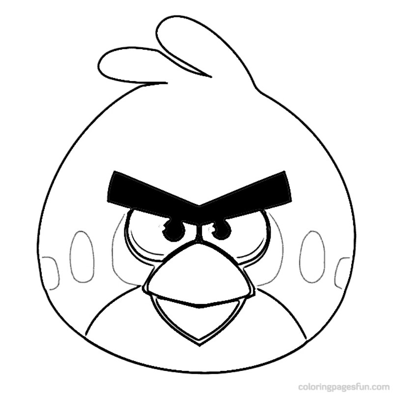 Free angry birds coloring pages for kids ~ Free Printable Angry Bird Coloring Pages For Kids
