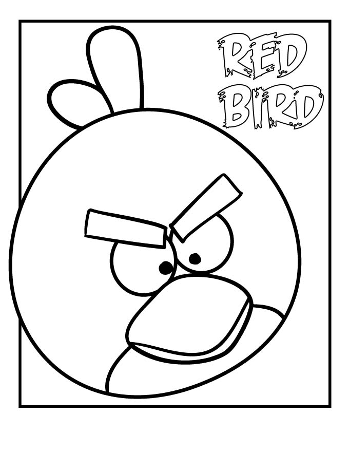 Canny image with angry birds printable color pages