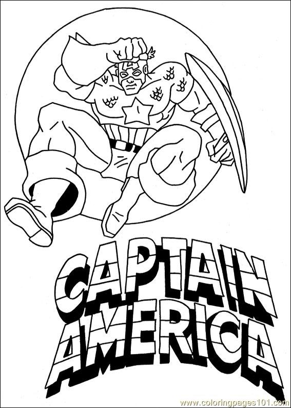 Free Printable Captain America Coloring Pages For Kids Captain America Printable Coloring Pages