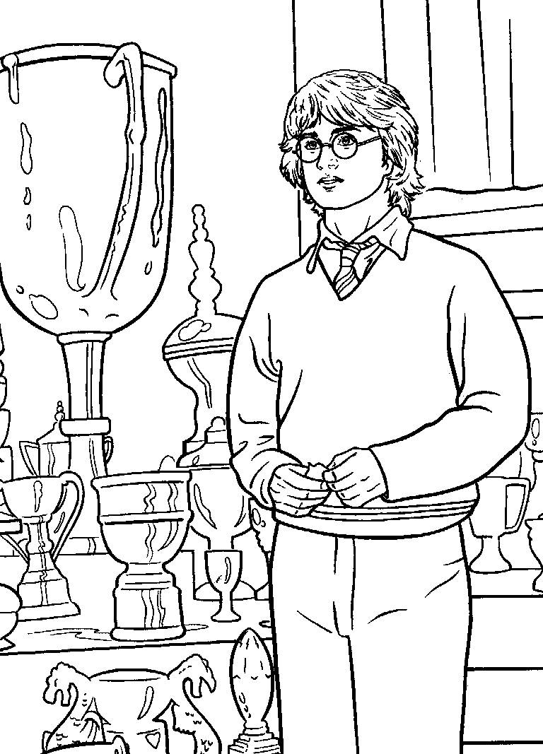 printable harry potter coloring pages