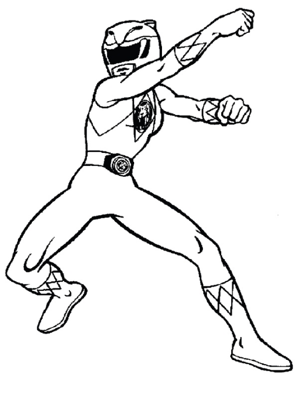 power ranger coloring pages printable - photo#1