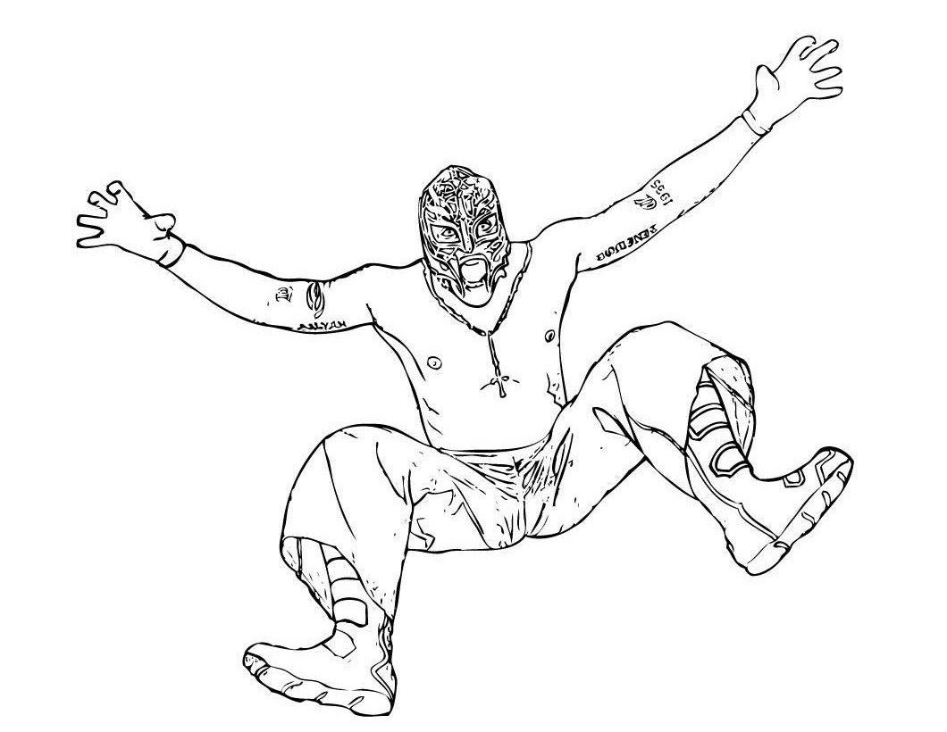 Wwe coloring games online - Printable Wwe Coloring Pages