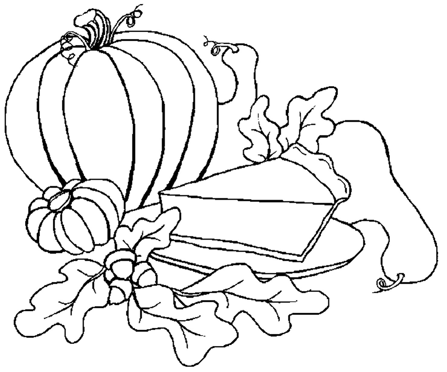 Pumpkin Coloring Pages Kids