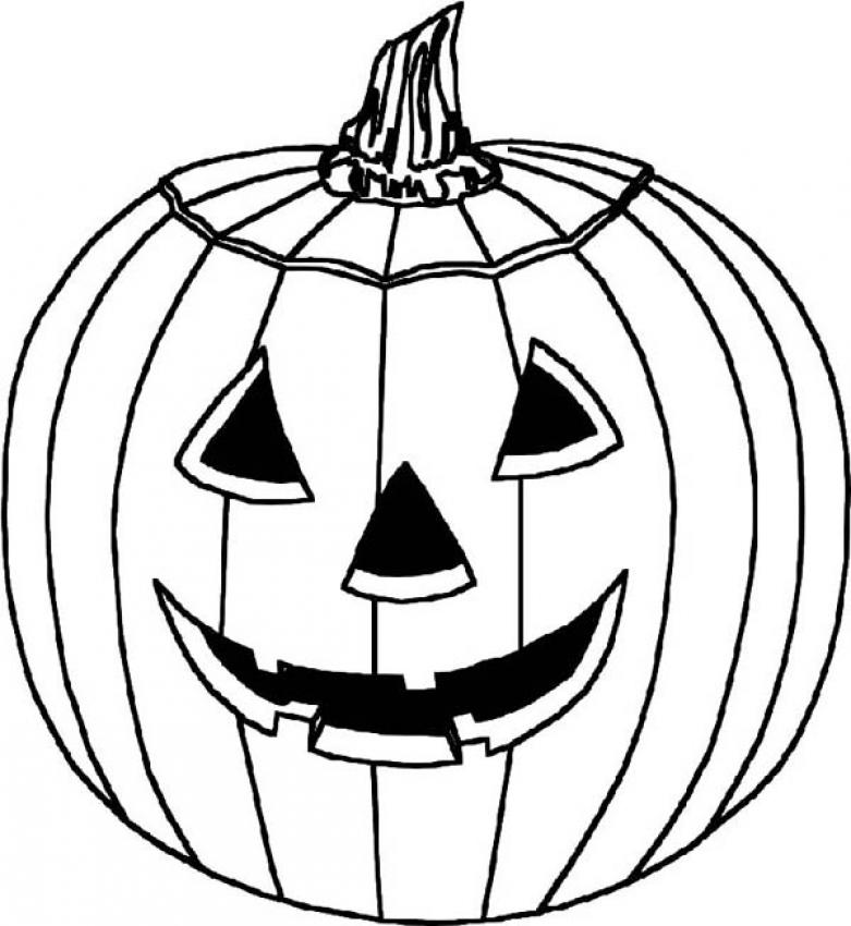 Free printable pumpkin coloring pages for kids for Pumpkin coloring pages for adults
