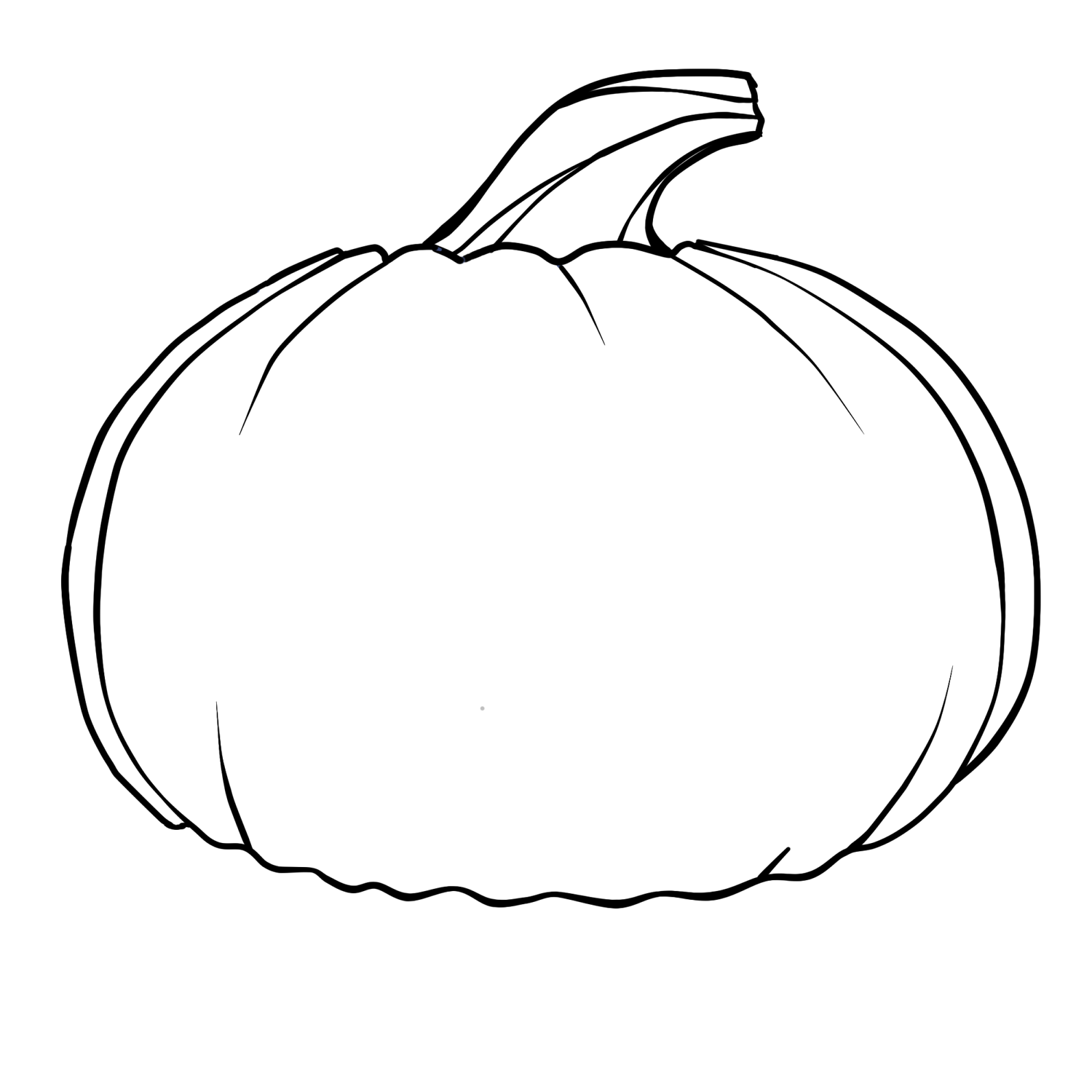 Coloring Pages Pumpkin Faces