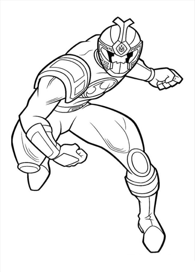 power ranger coloring pages printable - photo#29